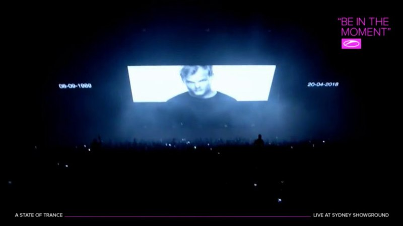 Tribute to Avicii @ A State of Trance 850 Sydney ASOTSYD