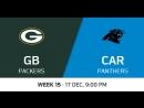 NFL2017 / W15 / Green Bay Packers - Carolina Panthers / CG / EN
