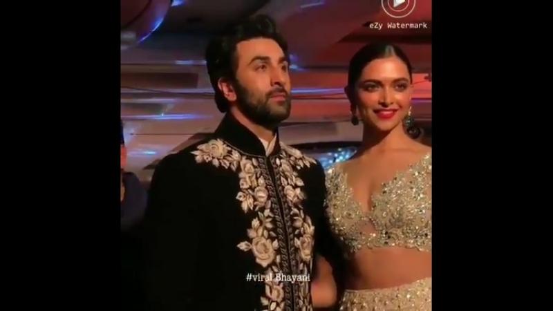 Ranbir Kapoor and Deepika Padukone on the ramp TheWalkOfMijwan