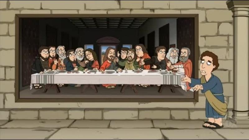 Друг Иисуса Гриффины Family Guy