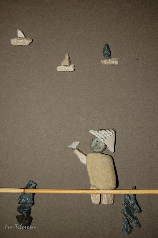 Каменные истории. Ирина Телесова. (картины из камней) PAMGKaumdDo