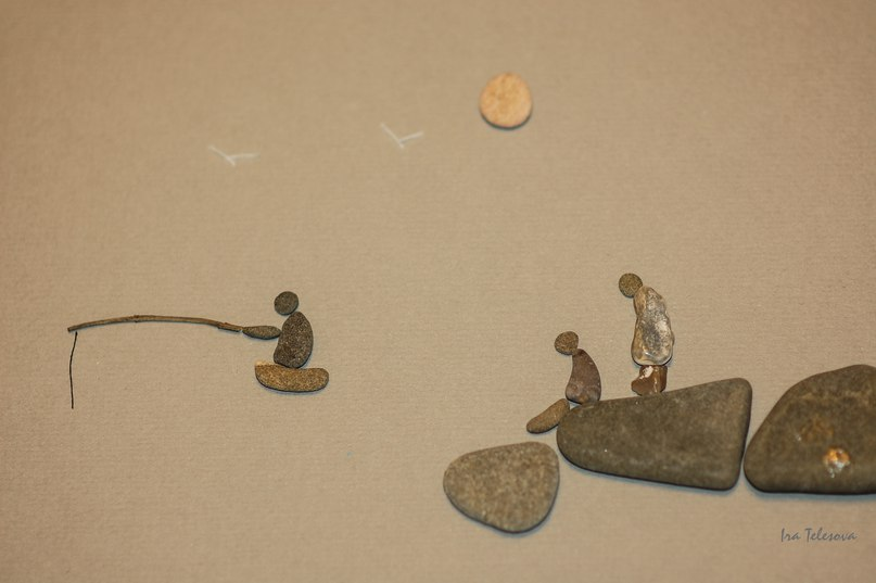 Каменные истории. Ирина Телесова. (картины из камней) H7oBijcl8ec