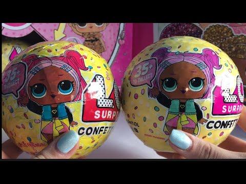 Сравнение оригинала и подделки LOL confetti pop . Самая странная подделка конфети поп.