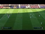 Геймплей FIFA 18,LaLiga Santander,Реал-Атлетико (PS4)