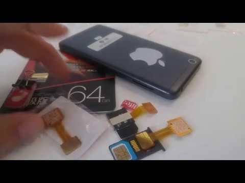 Адаптер 2 SIM MicroSD (одновременно в один слот) для Xiaomi redmi