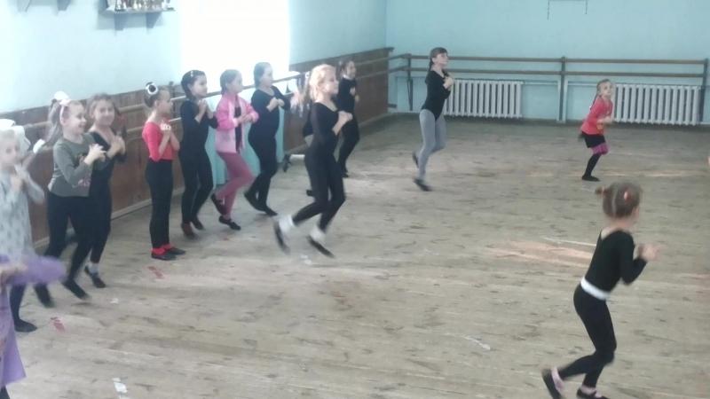 репетиция танца пузыри 2 18.10.17
