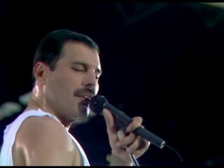 Queen - Who wants to live forever I want to break free (Live at Wembley)