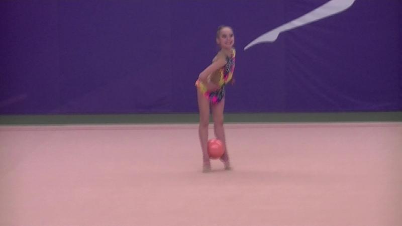 Наташа Тихонович!Мяч! многоборье