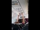Женщина в самолете сушила трусы штатны вентилятр - YouTube