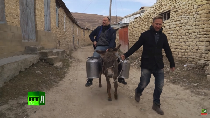 Native Dagestan Репортаж Russia Today о дагестанской кухне Американец в Дагестане