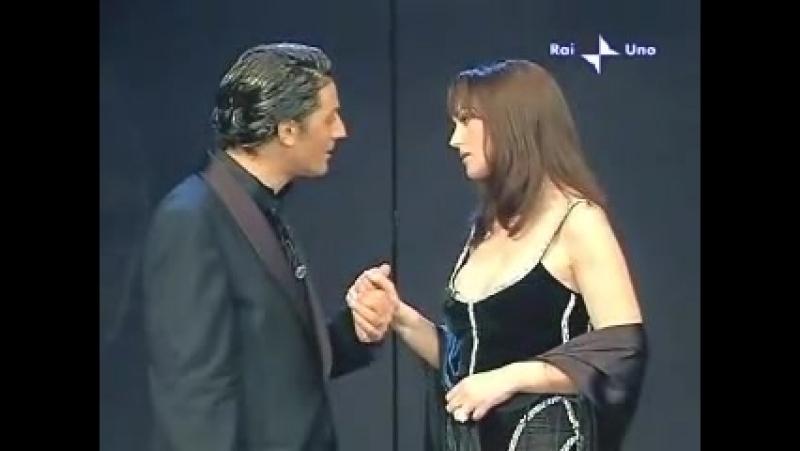Eros Ramazzotti Fiorello - Più bella cosa dedicata a Monica Bellucci (03 04 04