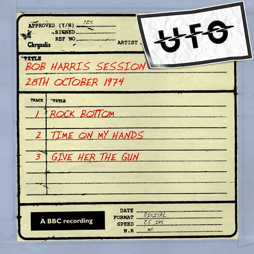 UFO альбом Bob Harris Session (2 October 1974)