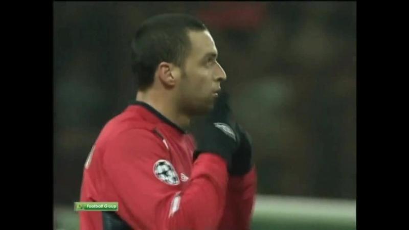 Гол Карвалью ЦСКА Арсенал 1 0 17 10 2006
