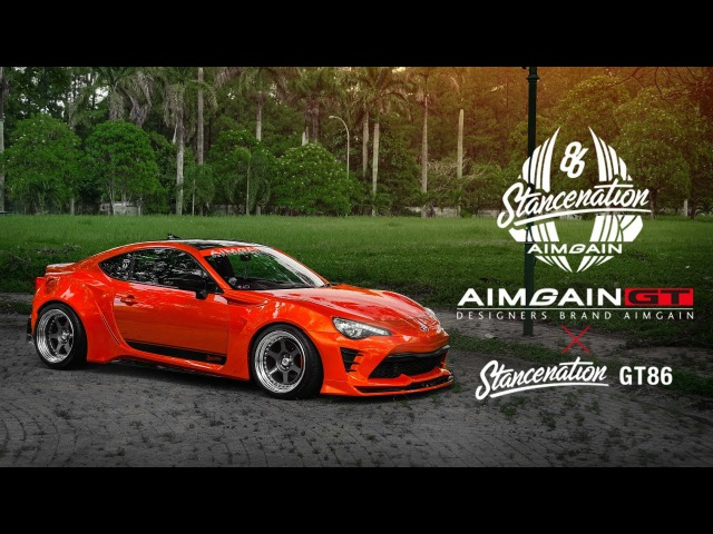LUKMAN'S AIMGAIN GT X STANCENATION TOYOTA GT86 DYNAMIC MOTION MEDIA