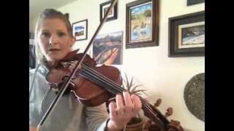 Irish Fiddle Tutorial - Trebles