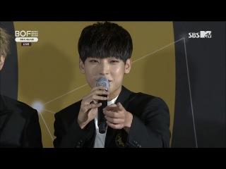 171022 SBS MTV BOF 개막식 레드카펫   SF9 CUT