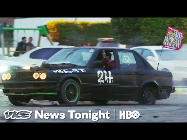 We Did Donuts With Libyas Young Street Racers (HBO)