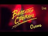 Валентин Стрыкало - Осень Live in Kiev 03.12.17 @Sentrum