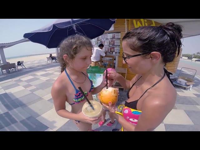 ПЛЯЖ JUMEIRAH public beach Burj Al Arab VLOG 10 Kolodin TV