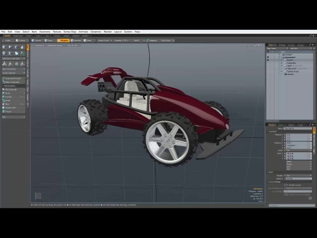 Modo Basics - Viewport Navigation - Pan