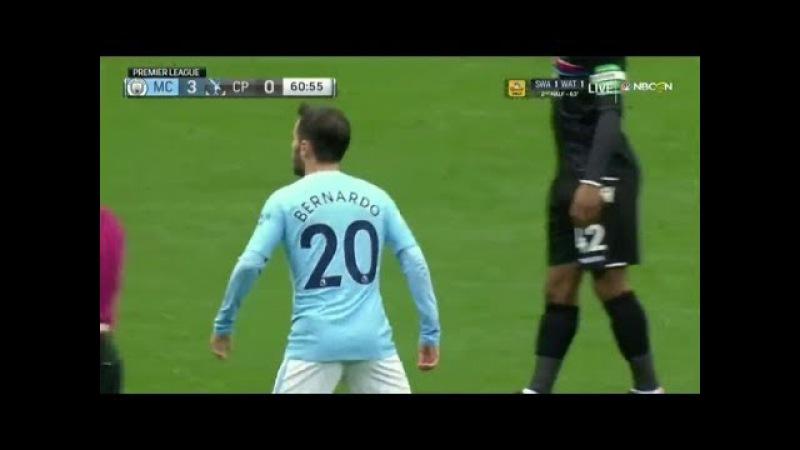 Bernardo Silva vs Crystal Palace (23-09-2017) Home
