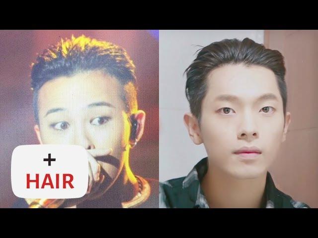 Cc) 쎈캐 빅뱅 '지드래곤(GD)' 슬릭백 헤어 스타일 Bigbang 'G-Dragon' Slick Back Hair Style Tutorial   Joseph 죠셉