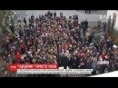 На головній площі Вінниці відомий на увесь світ Щедрик заспівали в півтисячі г