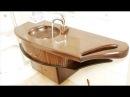 🛁 Plumbing Made Of Wood. 🚿 Baths, Sinks, Showers!