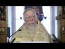 Протоиерей Димитрий Смирнов. Проповедь о крещении покаяния для прощения грехов