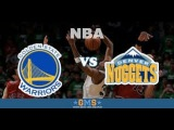 Golden State Warriors vs Denver Nuggets Replay 10/1/2017