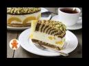 Торт Персиковая Зебра ✧ Peachy Zebra Cake (English Subtitles)