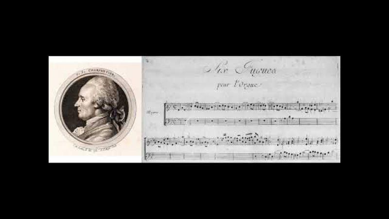 Beauvarlet Charpentier J.J. (1734-1794): Fugue pour l'Orgue