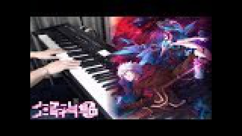 【ノーゲーム・ノーライフ ゼロ】主題歌 THERE IS A REASON ピアノで弾いてみた No game no life Ze