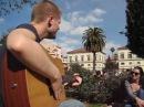Jay Brannan Casalinga Rome IT nella Piazza Celimontana