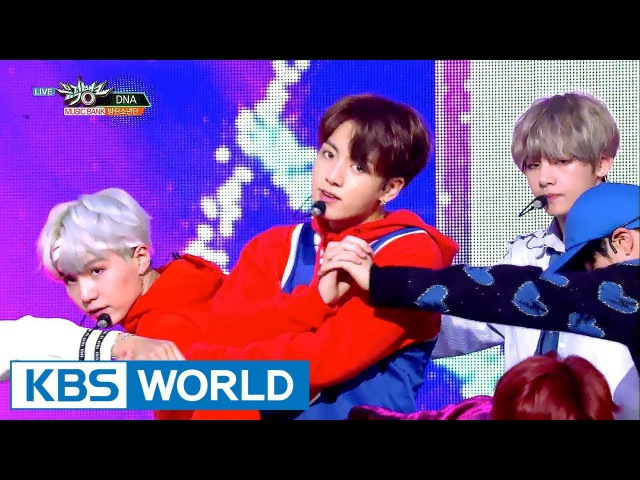 BTS (방탄소년단) - DNA [Music Bank HOT Stage / 2017.09.29]