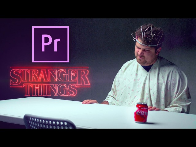 CRUSH ANYTHING with your mind in PREMIERE PRO Stranger Things