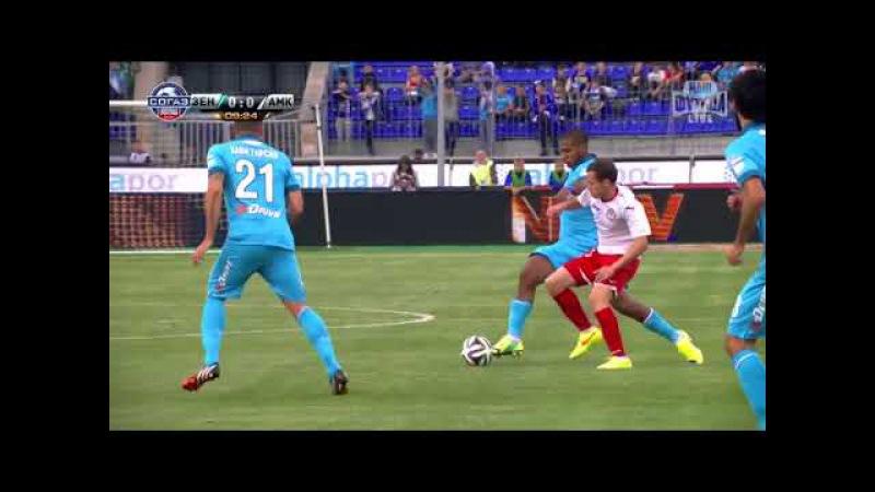 Зенит vs Амкар 23 08 2014 Премьер Лига
