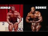 Ronnie Coleman Vs Arnold Schwarzenegger Ultimate Comparison !!!