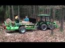 Těžba dřeva vyvážečka