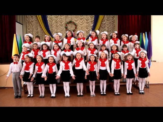 младший хор Джерельце песня Хлопайте в ладоши