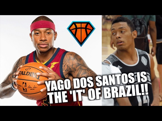 5'9 Yago Dos Santos is the ISAIAH THOMAS of Brazil!! | Adidas Nations Highlights