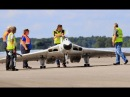 MASSIVE 1/5 SCALE RC AVRO VULCAN - FOUR GAS TURBINES AT LMA RAF ELVINGTON - 2017