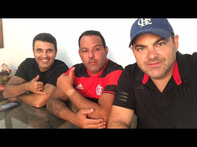 Deco e Papa entrevistam o ex-candidata à presidência do Flamengo, Cacau Cotta!