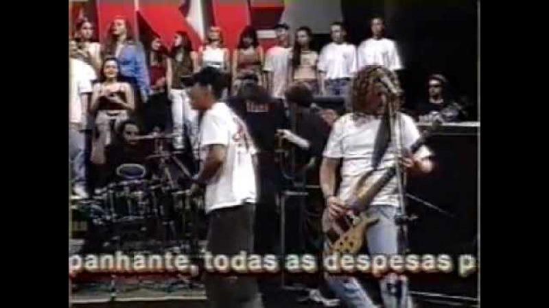 Raimundos ao vivo no Programa Livre (SBT) 7 músicas - FODA DEMAIS