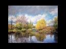 Zbigniew Kopania Ogród Moneta Wiosna malowanie krok po kroku