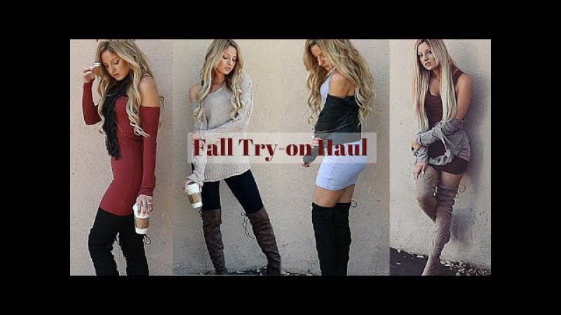 Fall Try On Haul Outfit Ideas