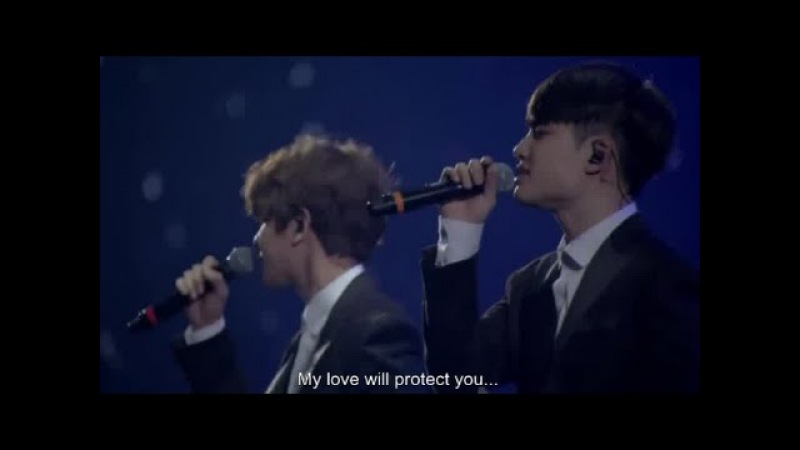 Exo- Baby dont cry LIVE [ENG SUB]