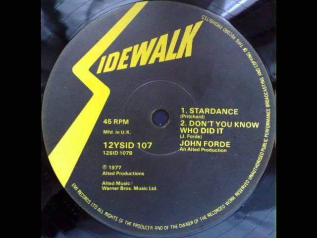 John Forde -- Stardance (1977)