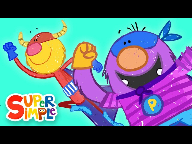 Captain Monsterica And The Purple Protector | The Balloon Rescue