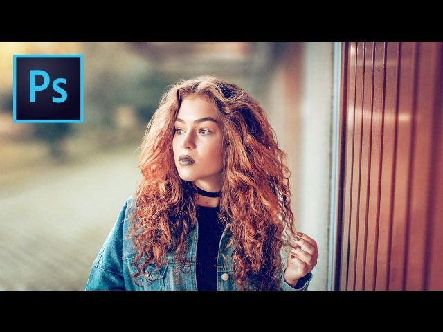 How to Blur Background When Hair is Difficult to Select in Photoshop